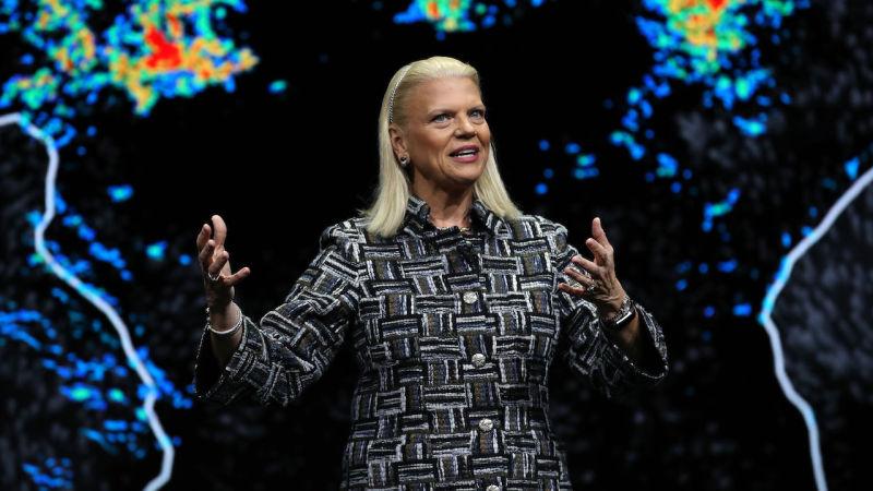 Drejtoresha ekzekutive e IBM Ginni Rometty në CES, 8 Janar, 2019 Foto: Getty Images